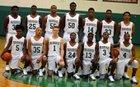 Peabody Warhorses Boys Varsity Basketball Winter 17-18 team photo.