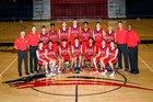 Great Oak Wolfpack Boys Varsity Basketball Winter 17-18 team photo.