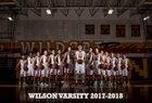 Wilson Wildcats Boys Varsity Basketball Winter 17-18 team photo.