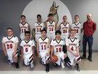 San Jon Coyotes Boys Varsity Basketball Winter 17-18 team photo.