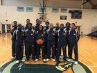 Stall Warriors Boys Varsity Basketball Winter 17-18 team photo.