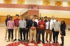 Washington Jaguars Boys Varsity Basketball Winter 17-18 team photo.