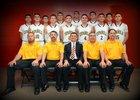 Espanola Valley Sundevils Boys Varsity Basketball Winter 17-18 team photo.