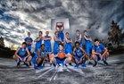 Highlands Ranch Falcons Boys Varsity Basketball Winter 17-18 team photo.