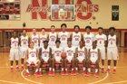 Northside Grizzlies Boys Varsity Basketball Winter 17-18 team photo.
