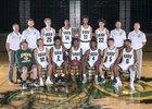 Auburn Trojans Boys Varsity Basketball Winter 17-18 team photo.