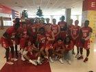 East Leopards Boys Varsity Basketball Winter 17-18 team photo.