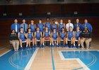 Graves County Eagles Boys Varsity Basketball Winter 17-18 team photo.