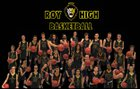 Roy Royals Boys Varsity Basketball Winter 17-18 team photo.