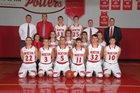 Morton Potters Boys Varsity Basketball Winter 17-18 team photo.