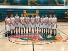 Southwestern Piasa Birds Boys Varsity Basketball Winter 17-18 team photo.