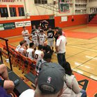 Santa Rosa Panthers Boys Varsity Basketball Winter 17-18 team photo.