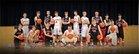 Deuel Cardinals Boys Varsity Basketball Winter 17-18 team photo.