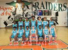 Plant City Raiders Boys Varsity Basketball Winter 17-18 team photo.