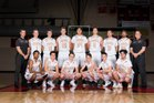 Ponderosa Mustangs Boys Varsity Basketball Winter 17-18 team photo.