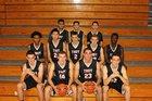 Troy Colts Boys Varsity Basketball Winter 17-18 team photo.