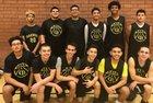 Cibola Raiders Boys Varsity Basketball Winter 17-18 team photo.