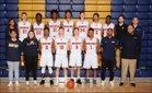 Decatur Golden Gators Boys Varsity Basketball Winter 17-18 team photo.