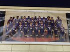 DeWitt Dragons Boys Varsity Basketball Winter 17-18 team photo.