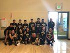 Latino College Preparatory Academy Golden Eagles Boys Varsity Basketball Winter 17-18 team photo.