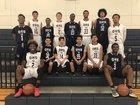 Desert Hot Springs Golden Eagles Boys Varsity Basketball Winter 17-18 team photo.