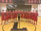 Liberty Lancers Boys Varsity Basketball Winter 17-18 team photo.