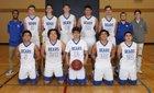 Kiona-Benton Bears Boys Varsity Basketball Winter 17-18 team photo.
