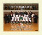 Henrico Warriors Boys Varsity Basketball Winter 17-18 team photo.