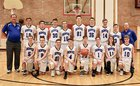 Denver Eagles Christian HomeSchool Eagles  Boys Varsity Basketball Winter 17-18 team photo.
