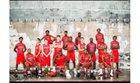 Rivercrest Colts Boys Varsity Basketball Winter 17-18 team photo.