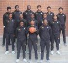 King/Drew Golden Eagles Boys Varsity Basketball Winter 17-18 team photo.