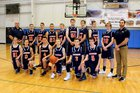 Lighthouse Christian Chargers Boys Varsity Basketball Winter 17-18 team photo.