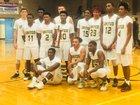 White Oak Vikings Boys Varsity Basketball Winter 17-18 team photo.