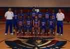 Friendly Patriots Boys Varsity Basketball Winter 17-18 team photo.