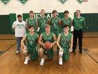 Des Arc Eagles Boys Varsity Basketball Winter 17-18 team photo.