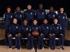 Aquinas Falcons Boys Varsity Basketball Winter 17-18 team photo.