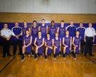 Vincennes Rivet Patriots Boys Varsity Basketball Winter 17-18 team photo.