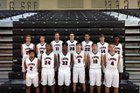 Oviedo Lions Boys Varsity Basketball Winter 17-18 team photo.