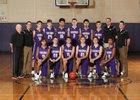 North Kitsap Vikings Boys Varsity Basketball Winter 17-18 team photo.