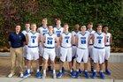 Seattle Prep Panthers Boys Varsity Basketball Winter 17-18 team photo.