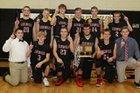 Lesterville Bearcats Boys Varsity Basketball Winter 17-18 team photo.