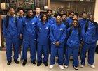 Monticello Billies Boys Varsity Basketball Winter 17-18 team photo.