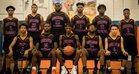 Louisburg Warriors Boys Varsity Basketball Winter 17-18 team photo.