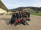 Averroes  Boys Varsity Basketball Winter 17-18 team photo.