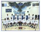 California City Ravens Boys Varsity Basketball Winter 17-18 team photo.