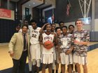 King's Christian  Boys Varsity Basketball Winter 17-18 team photo.