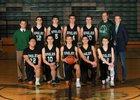 Klahowya Eagles Boys Varsity Basketball Winter 17-18 team photo.