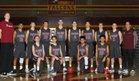 Prairie Falcons Boys Varsity Basketball Winter 17-18 team photo.