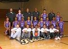 Muncie Central Bearcats Boys Varsity Basketball Winter 17-18 team photo.