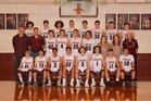 Huntsville Eagles Boys Varsity Basketball Winter 17-18 team photo.
